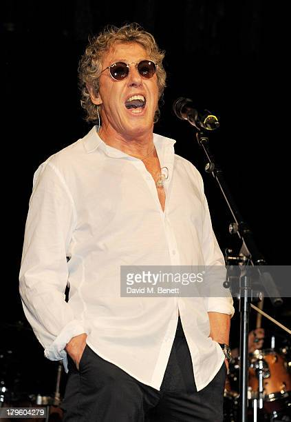 Roger Daltrey performs at the Queen AIDS Benefit in support of The Mercury Phoenix Trust at One Mayfair on September 5 2013 in London England