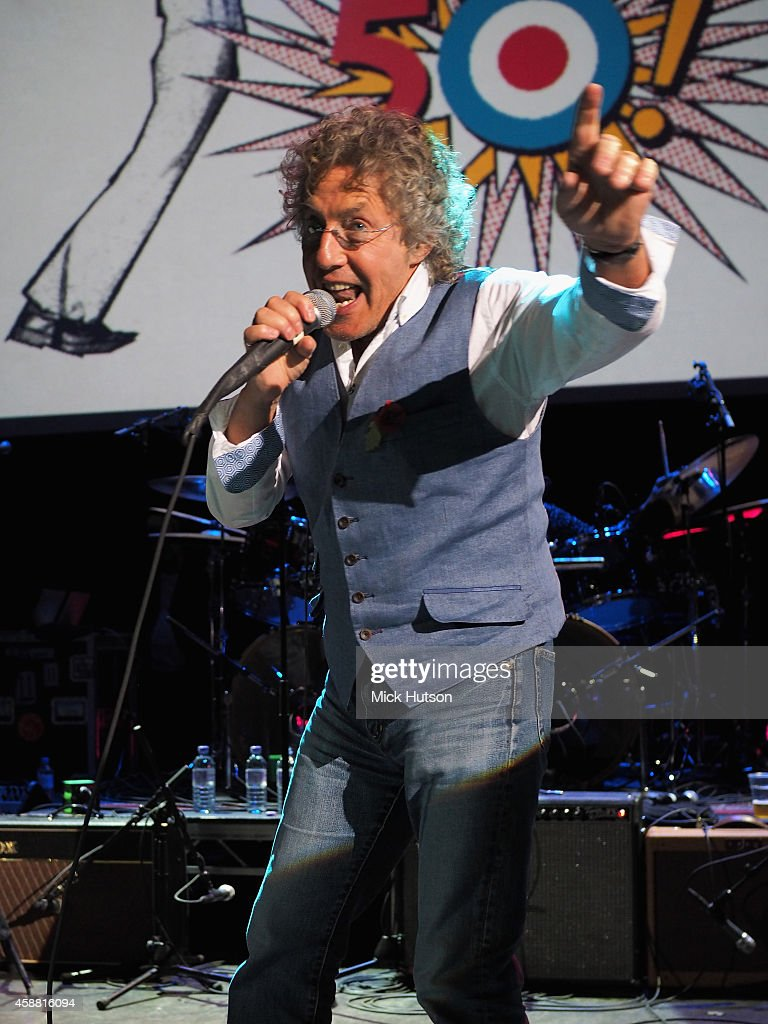 Roger Daltrey performs on stage as part of an evening of The Who music in aid of Teenage Cancer Trust, at O2 Shepherd's Bush Empire on November 11, 2014 in London, England.