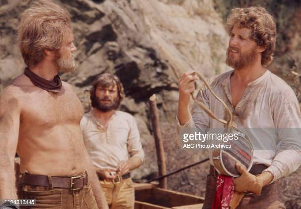 Roger Davis Pete Duel Ben Murphy appearing in the Walt Disney Television via Getty Images series 'Alias Smith and Jones' episode 'Smiler with a Gun'