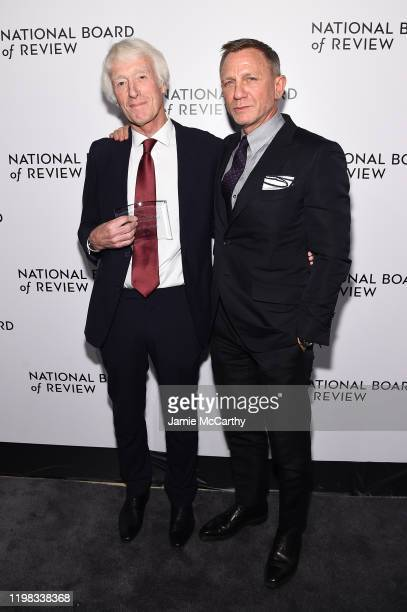 Roger Deakins and Daniel Craig attend The National Board of Review Annual Awards Gala at Cipriani 42nd Street on January 08 2020 in New York City