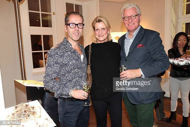 Roger Diederen Kunsthalle Muenchen Andreas Graf Rittberg and his wife Christiane Graefin Rittberg during the Swarovski World Jewelry Facets...