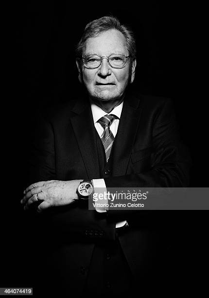 Roger Dubuis poses during Roger Dubuis at the SIHH 2014 Day 1 on January 20 2014 in Geneva Switzerland