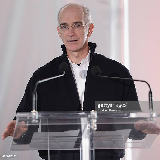 Roger Duffy attends The New School University Center Grand Opening at The New School University Center on January 23 2014 in New York City