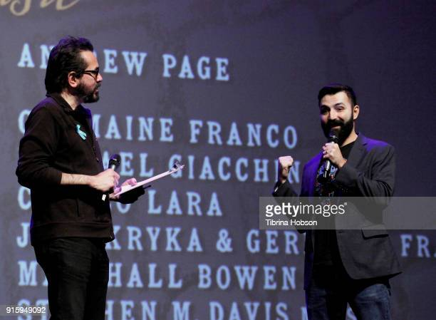 Roger Durling and Adrian Molina attend the screening and QA of 'Coco' at the 33rd annual Santa Barbara International Film Festival at Arlington...