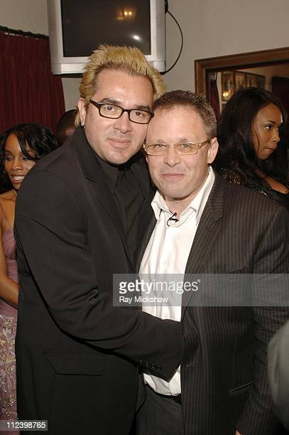 Roger Durling and Bill Condon during 22nd Annual Santa Barbara International Film Festival Bill Condon Honored with The Montecito Award Backstage at...