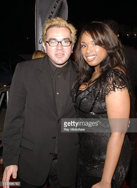 Roger Durling and Jennifer Hudson during 22nd Annual Santa Barbara International Film Festival Bill Condon Honored with The Montecito Award Backstage...