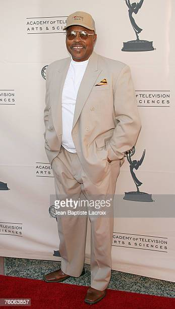 Roger E Mosley arrives at the Academy of TV Stunts Peer Group Party at the Academy of Television Arts Sciences on August 11 2007 in North Hollywood...