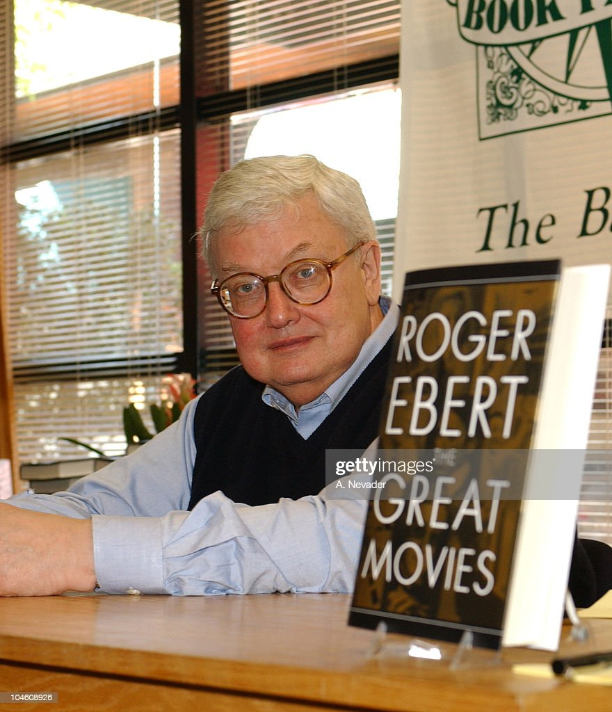 "Roger Ebert Book Signing for ""The Great Movies"""