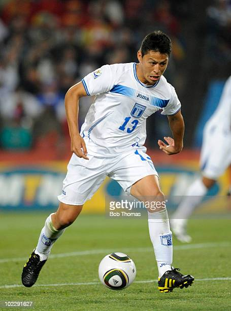 Roger Espinoza of Honduras during the 2010 FIFA World Cup South Africa Group H match between Spain and Honduras at Ellis Park Stadium on June 21 2010...