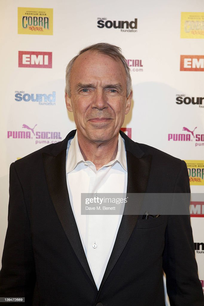 Roger Faxon attends The EMI Puma Cobra post BRIT awards party at the O2 on February 21, 2012 in London, England.