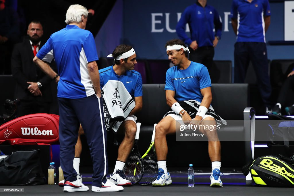 Laver Cup - Day Two : ニュース写真