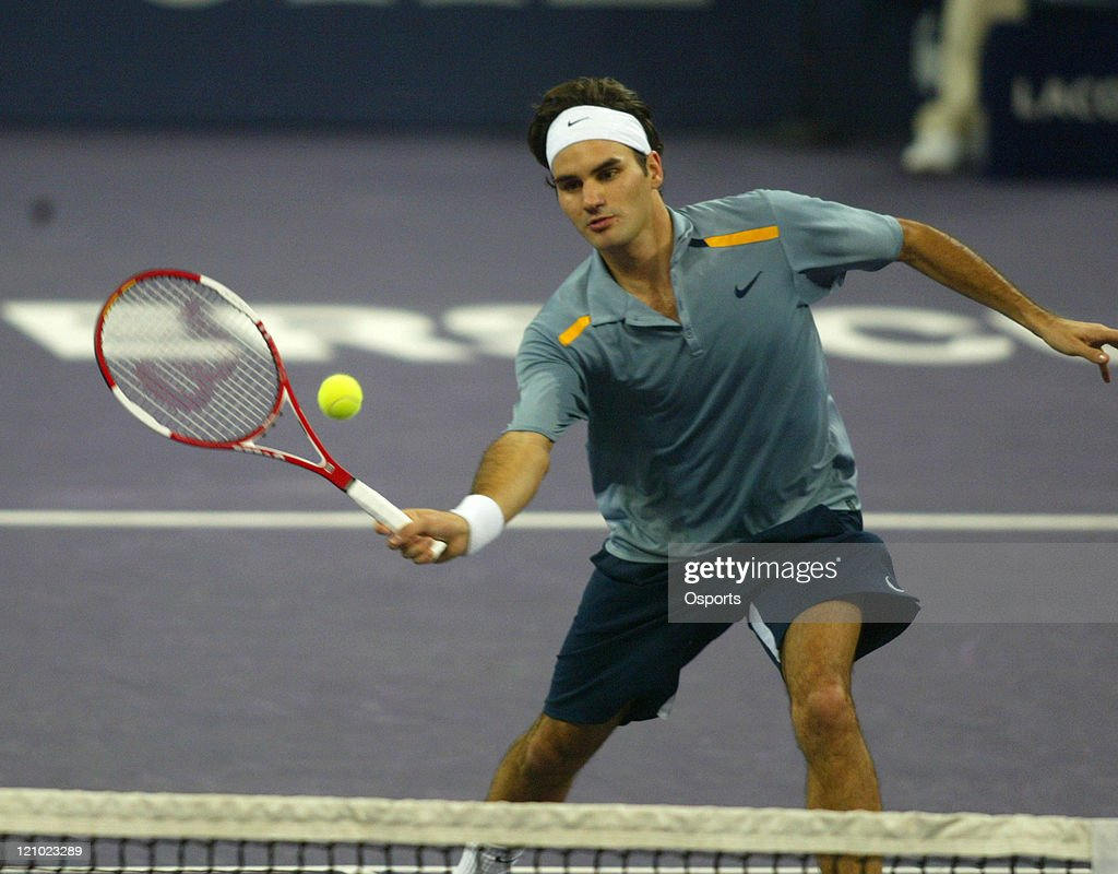 ATP - 2006 Tennis Masters Cup - Third Round - Roger Federer vs Ivan Ljubicic : Fotografía de noticias