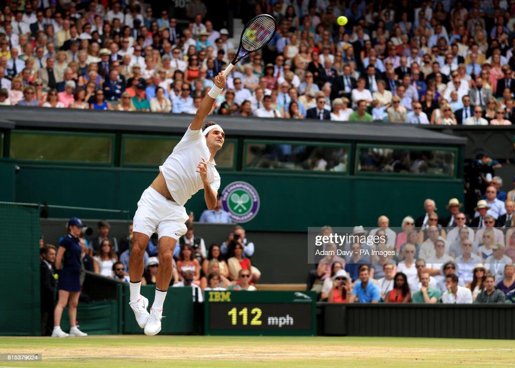 Wimbledon 2017 - Day Thirteen - The All England Lawn Tennis and Croquet Club : News Photo