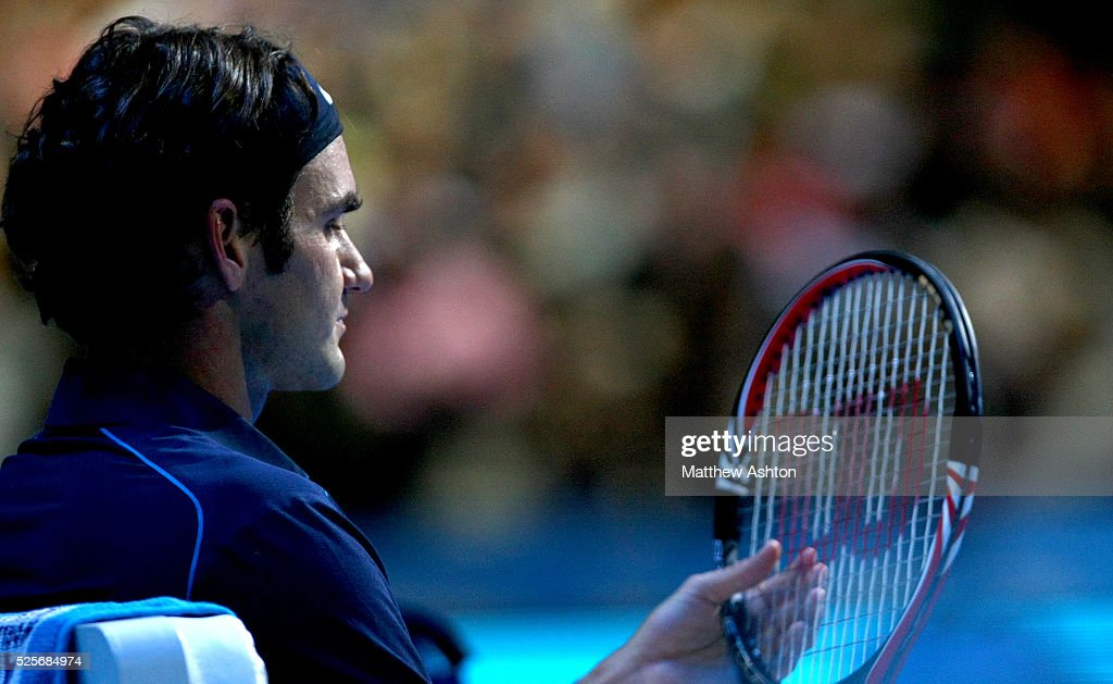 Tennis : Barclays ATP World Tour Finals : Nachrichtenfoto