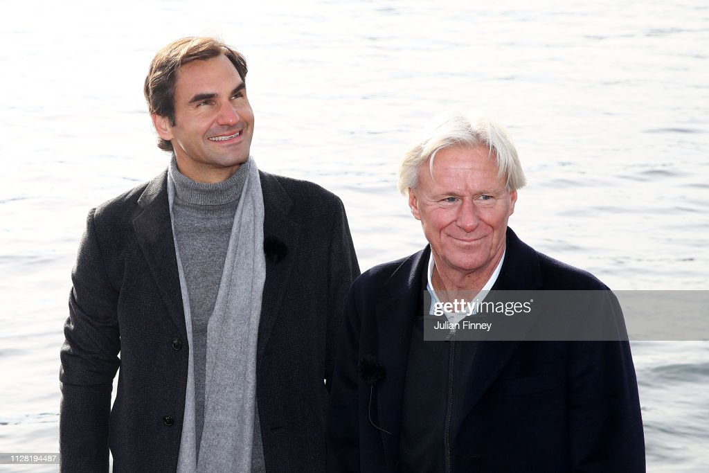 The Laver Cup Press Conference : News Photo