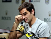 shanghai china roger federer switzerland attends