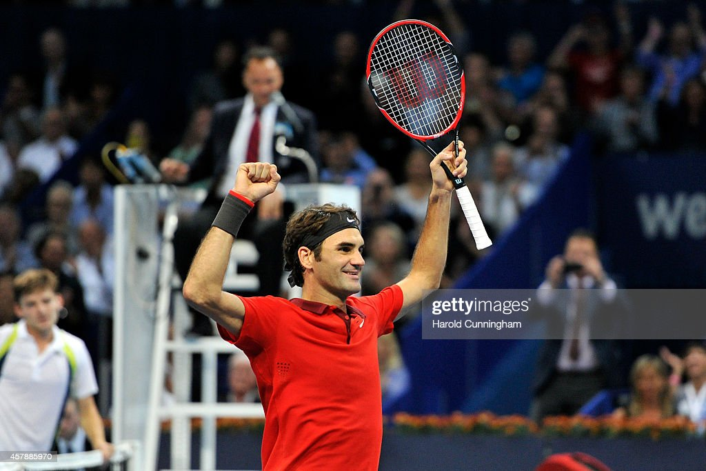 Swiss Indoors Basel - Day Seven : News Photo