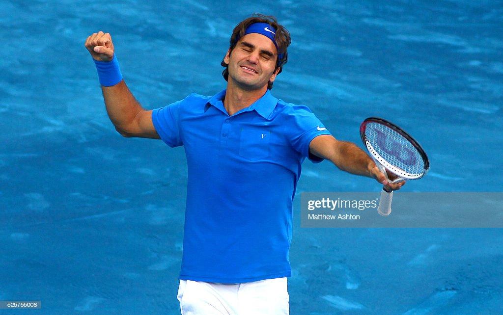Tennis - Mutua Madrid Open 2012 - Roger Federer : ニュース写真