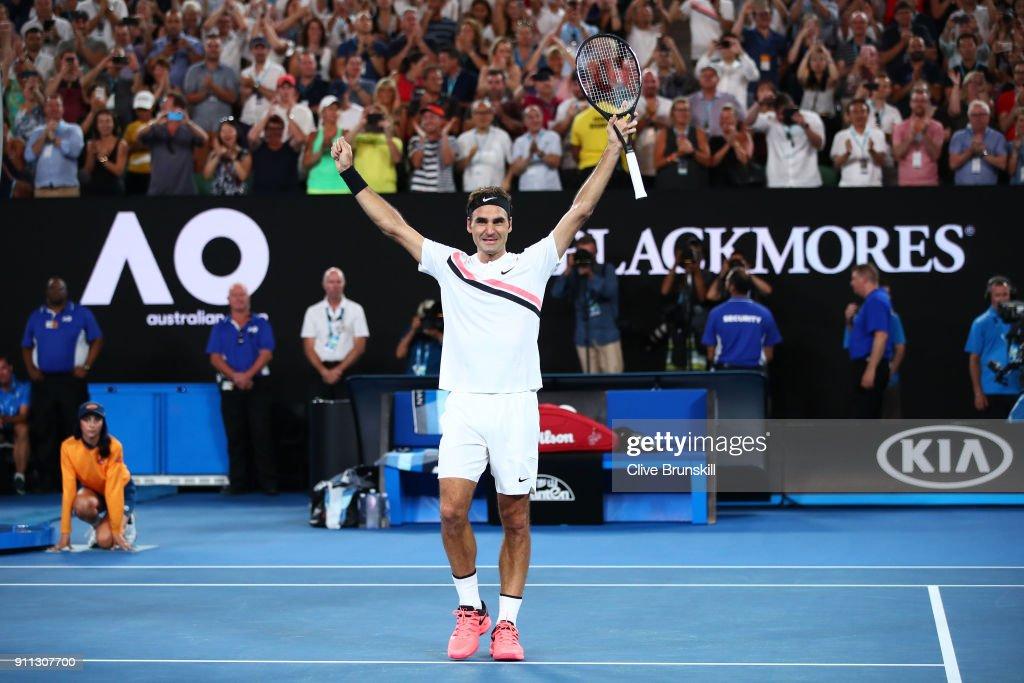 2018 Australian Open - Day 14 : ニュース写真