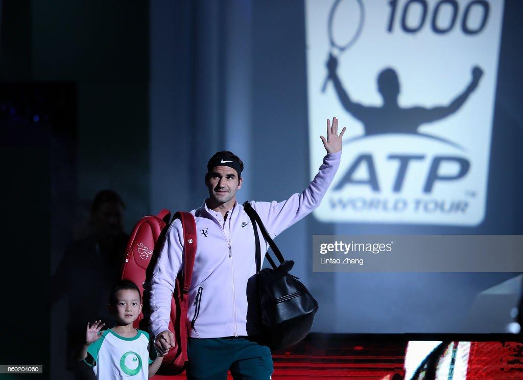 2017 ATP 1000 Shanghai Rolex Masters - Day 4 : News Photo
