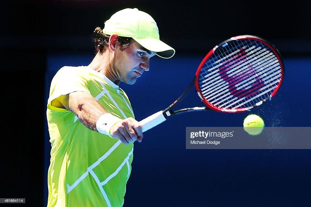 2015 Australian Open - Previews : News Photo