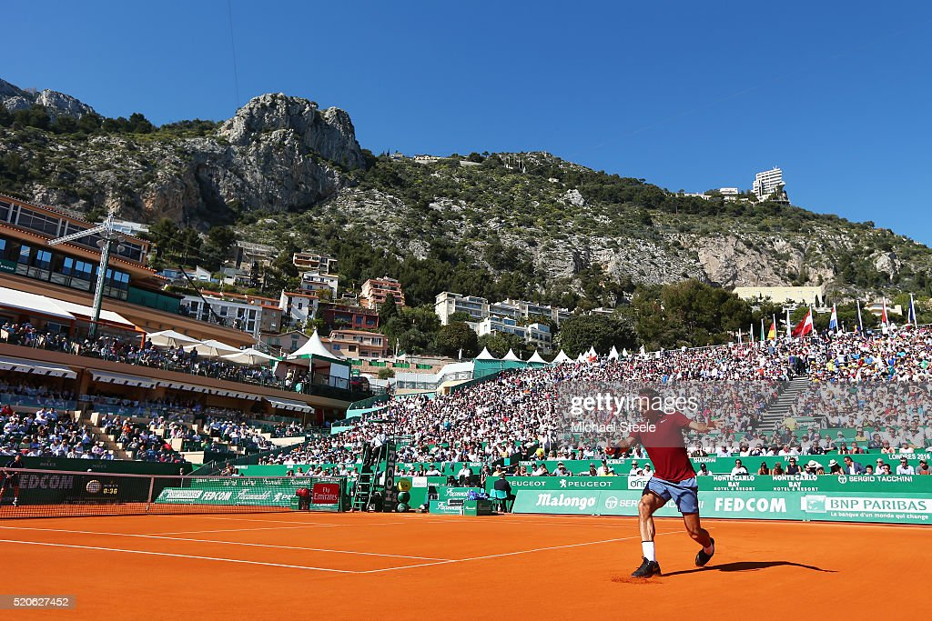 ATP Masters Series: Monte Carlo Rolex Masters - Day Three : News Photo
