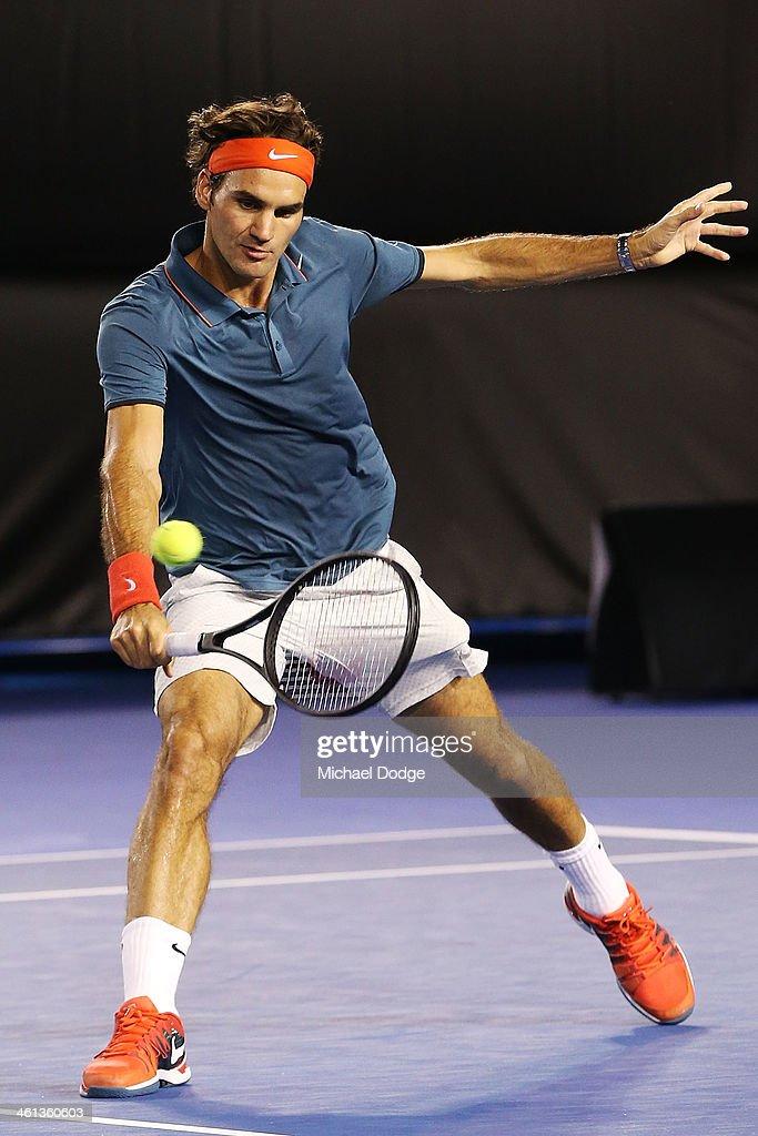 Roger Federer Charity Match : ニュース写真