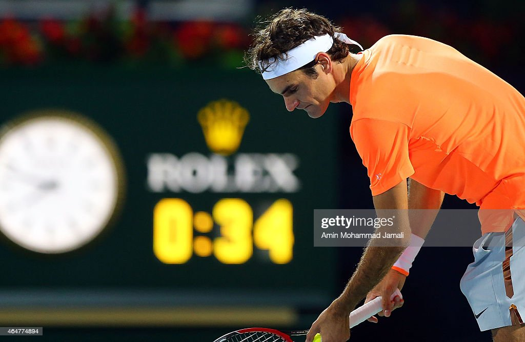 ATP Dubai Duty Free Tennis Championships - Day Six : News Photo