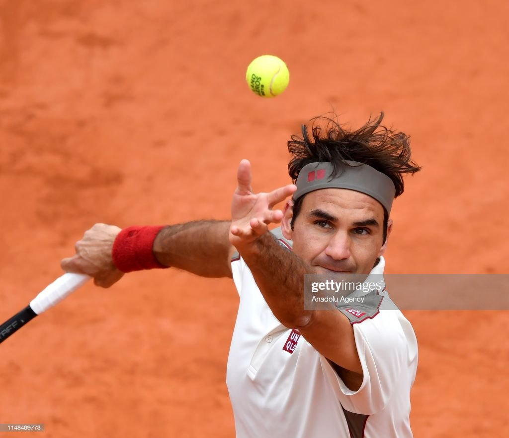French Open 2019 mens semi final, Roger Federer vs Rafael Nadal : News Photo