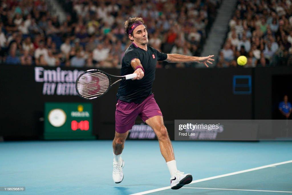 2020 Australian Open - Day 3 : News Photo