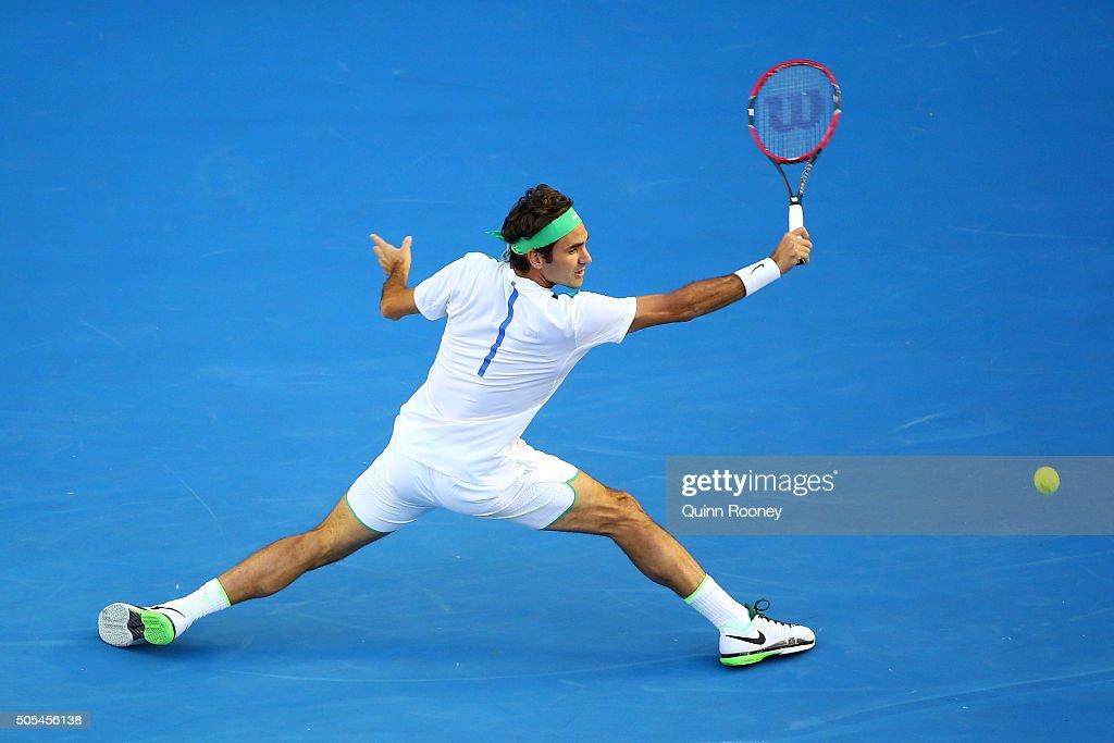 2016 Australian Open - Day 1 : News Photo