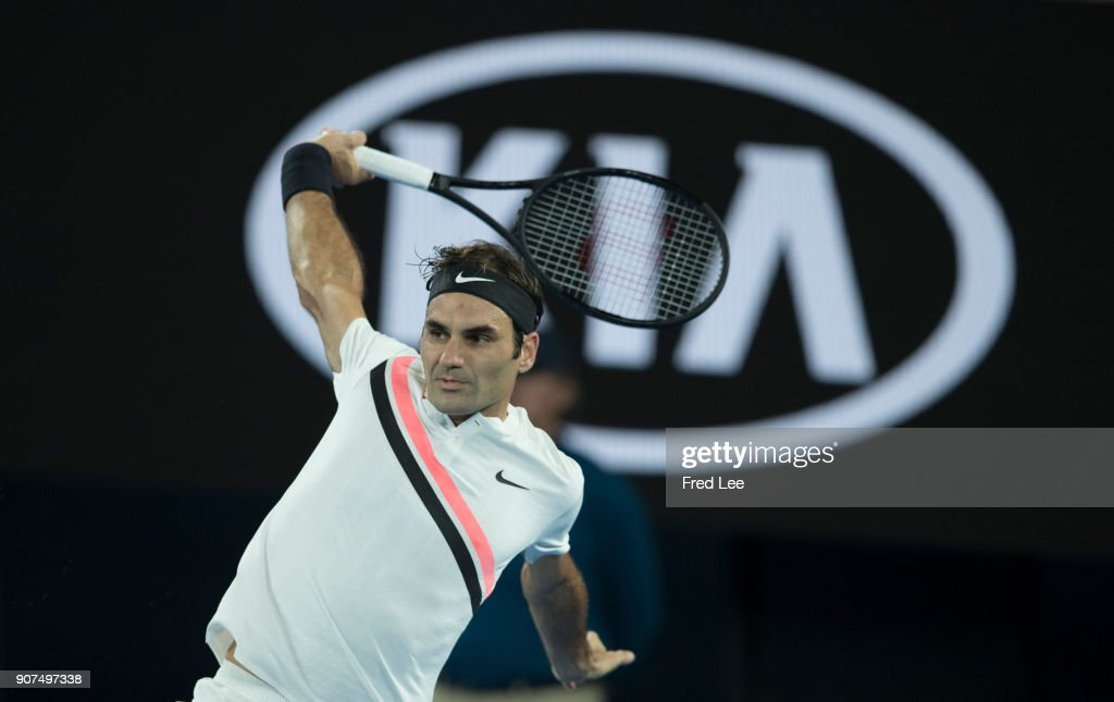 2018 Australian Open - Day 6 : News Photo