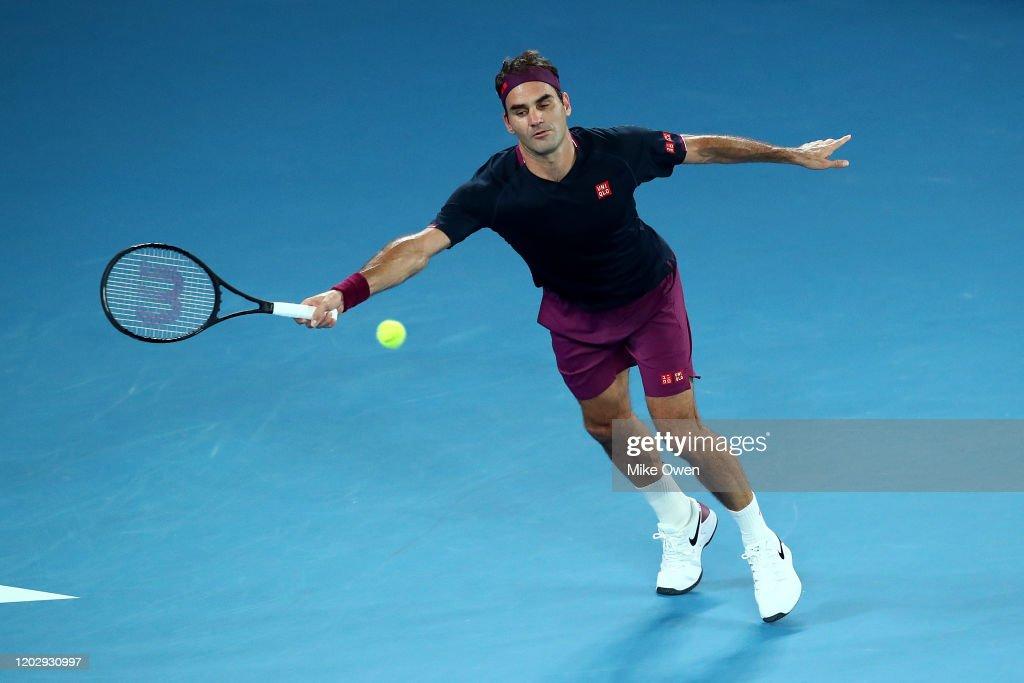 2020 Australian Open - Day 11 : Foto jornalística