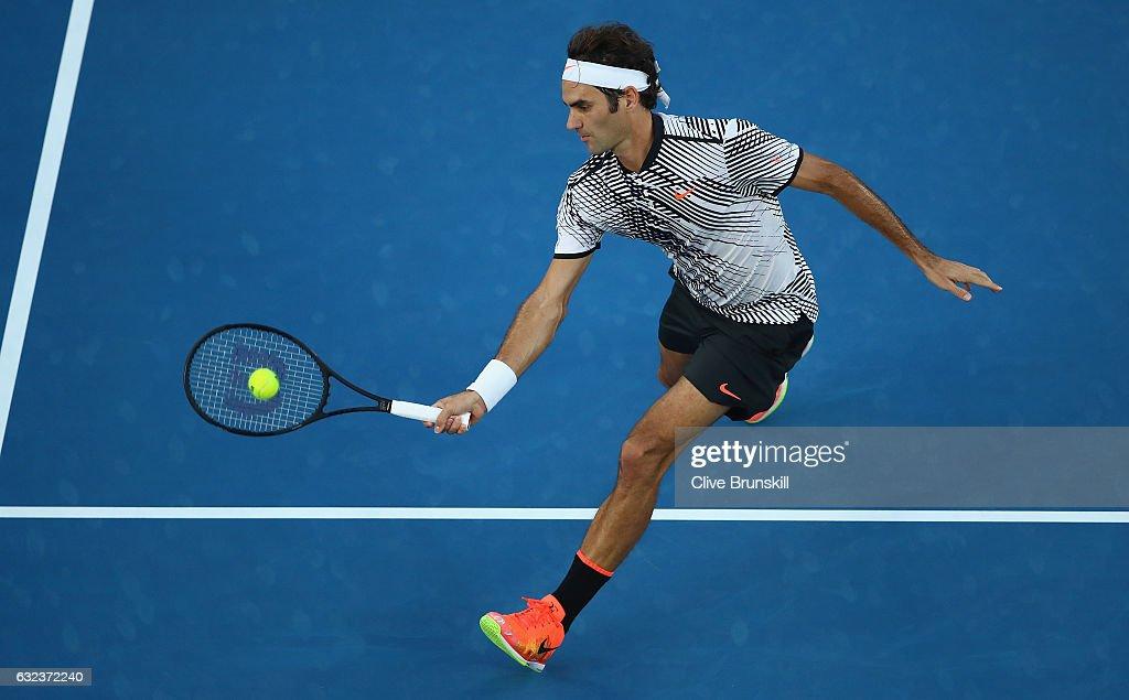 2017 Australian Open - Day 7 : ニュース写真