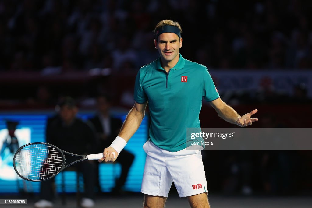 The Greatest Match: Roger Federer v Alexander Zverev : ニュース写真