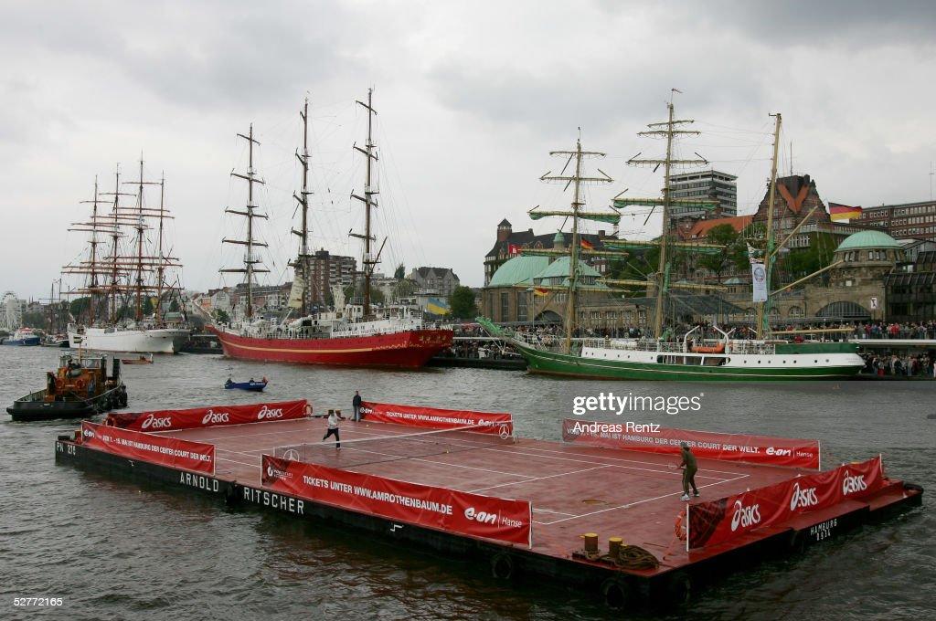 Pre Tournament Events ATP Masters Series Hamburg : News Photo