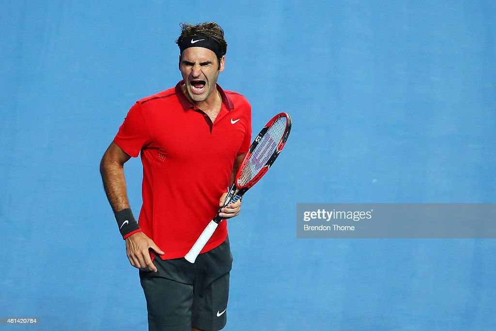 One Night With Roger Federer and Lleyton Hewitt : News Photo
