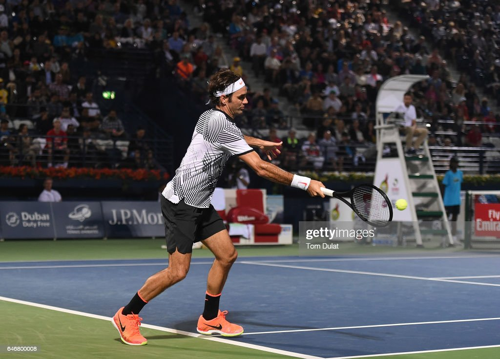 ATP Dubai Duty Free Tennis  Championship - Day Four : ニュース写真