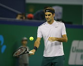 shanghai china roger federer switzerland returns