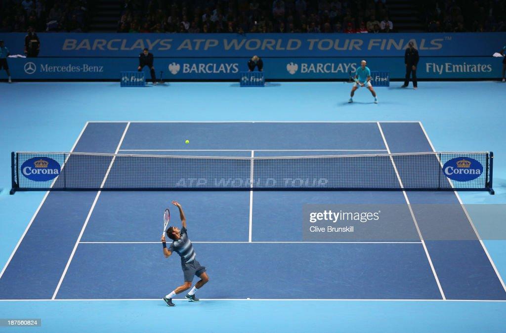 Barclays ATP World Tour Finals - Day Seven : News Photo