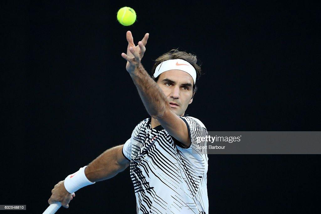 2017 Australian Open - Day 9 : News Photo