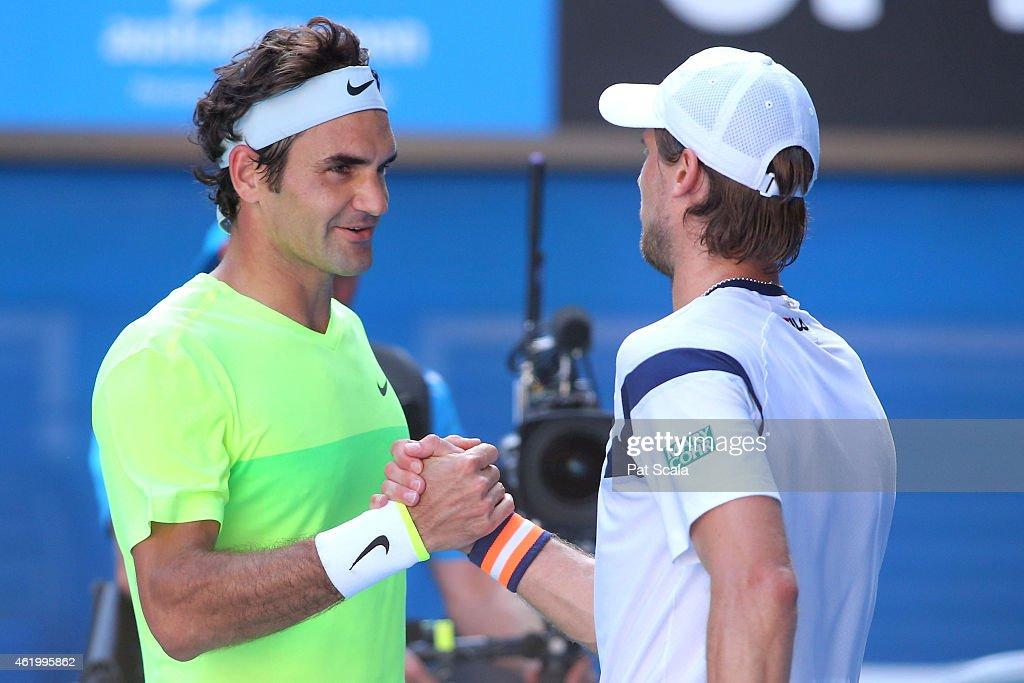 2015 Australian Open - Day 5 : News Photo