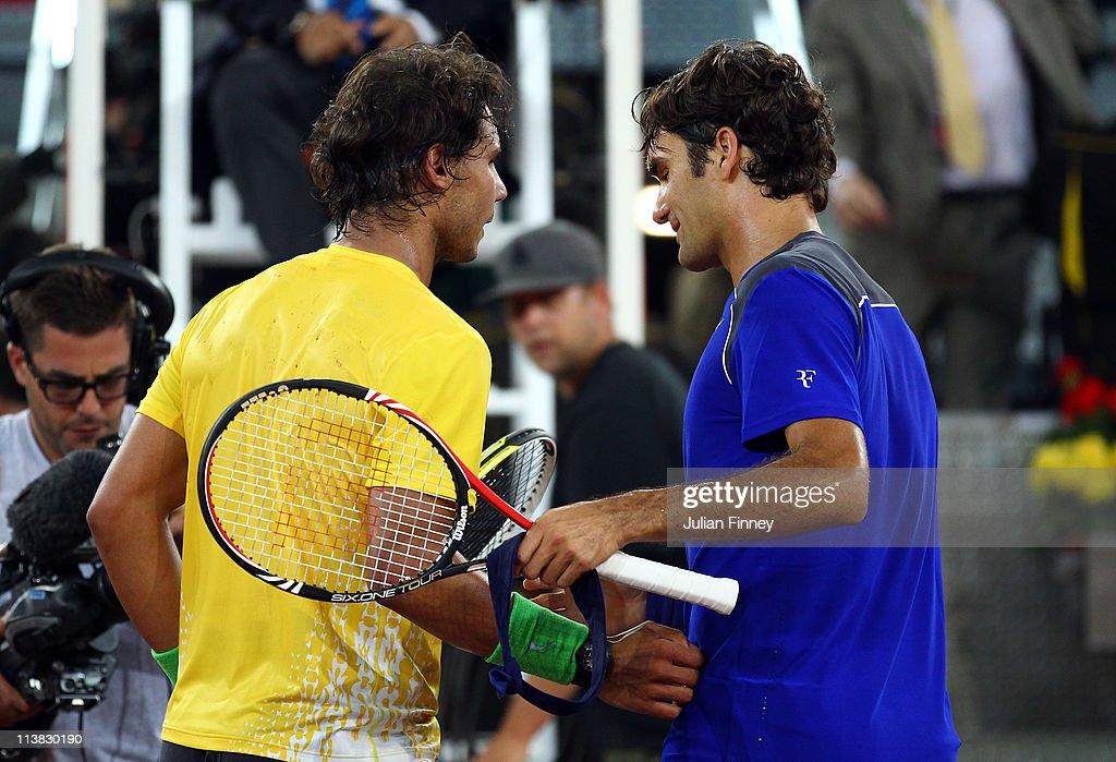 Mutua Madrilena Madrid Open - Day Eight : News Photo