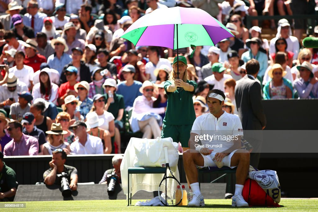 Day One: The Championships - Wimbledon 2018 : ニュース写真