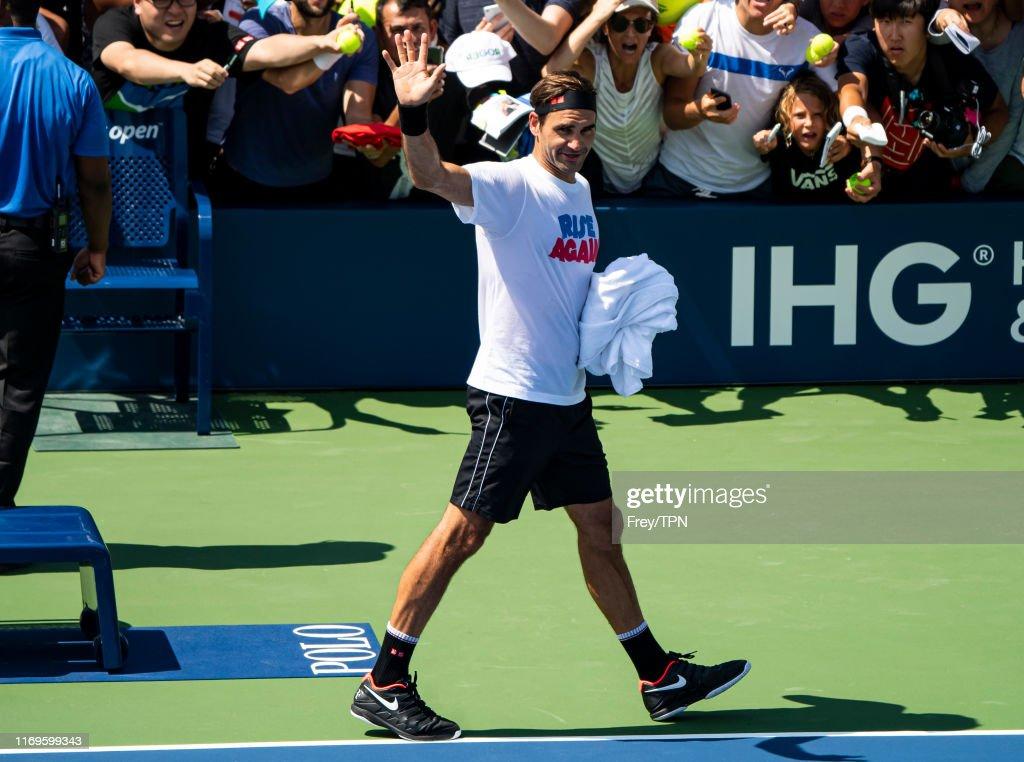 2019 US Open - Qualifying & Training : News Photo