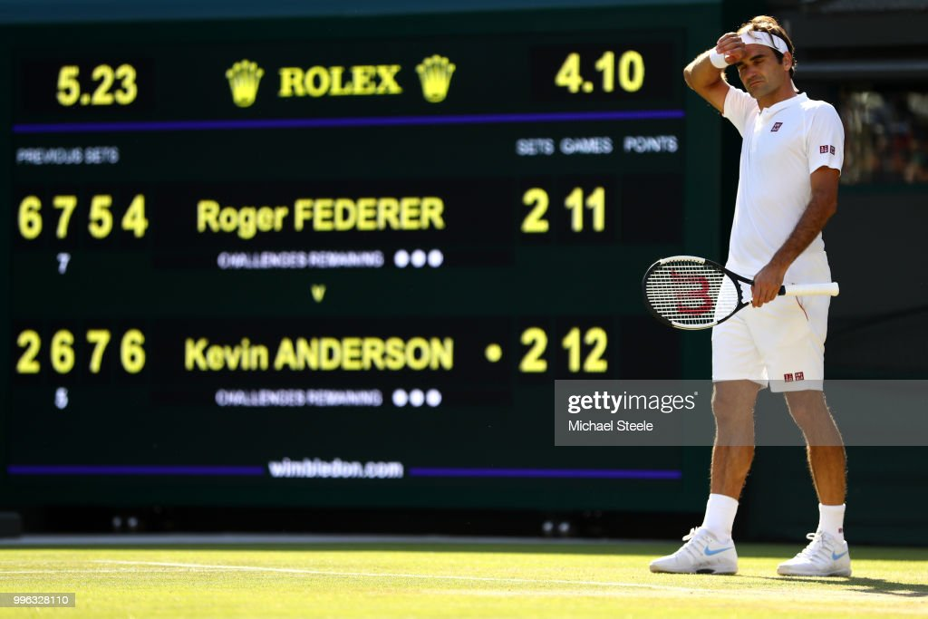 GBR: Day Nine: The Championships - Wimbledon 2018