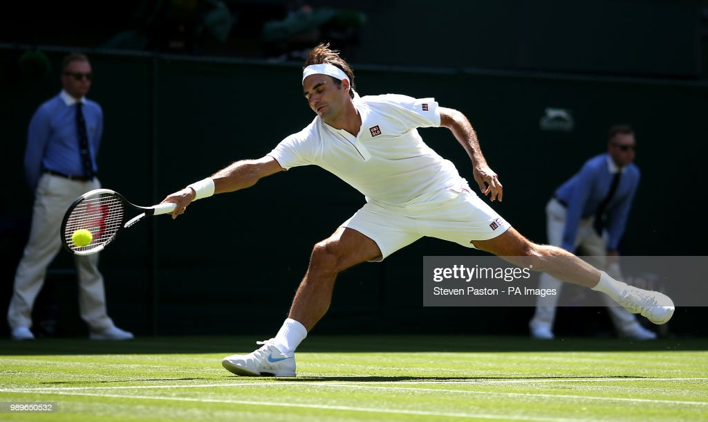 Wimbledon 2018 - Day One - The All England Lawn Tennis and Croquet Club : News Photo