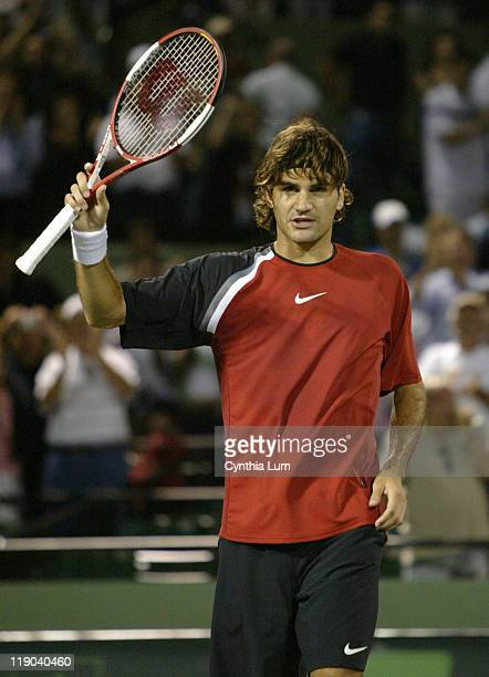 Roger Federer struggled in his 3rd round match against Mariano Zabaleta but finally defeated the Argentine 62 57 63 in the Nasdaq 100 at the Tennis...