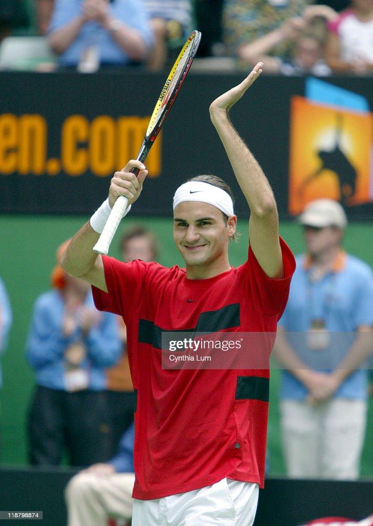 2004 Australian Open - Men Singles Finals - Roger Federer vs Marat Safin