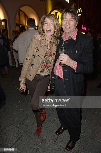 Roger Fitz and Margit Friedrich attend the 'Tegernsee Tal Braeuhaus' Opening on May 14 2013 in Munich Germany